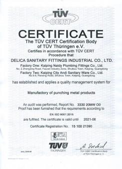 EN ISO 9001 2015