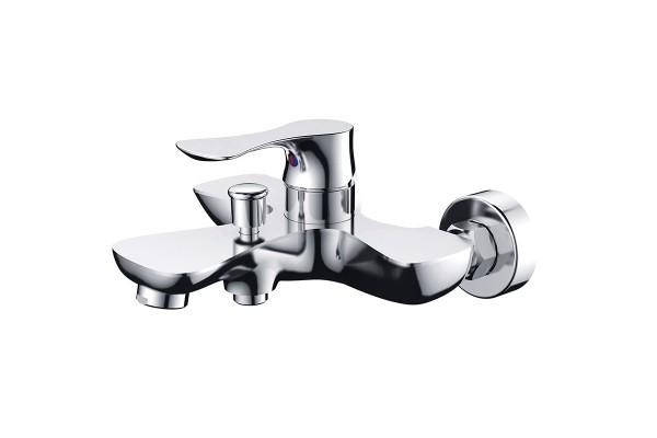 Single lever bath mixer